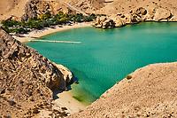 Sultanat d'Oman, plage de Barr al Jissah // Sultanat of Oman, Gulf of Oman, Mascat, Barr al Jissah beach