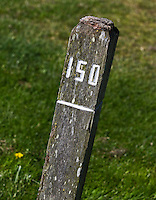 ALKMAA - Golfbaan Sluispolder, 150 meter paaltje, FOTO KOEN SUYK