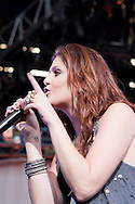 Lady Antebellum performed at the Shoreline Amphitheater