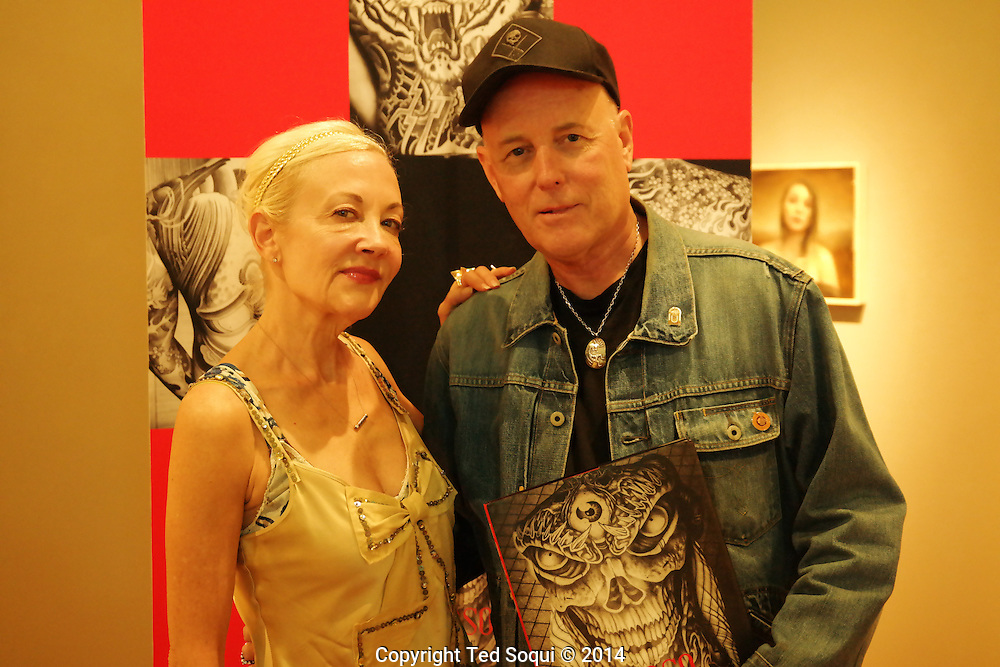 Book opening for Markus Cuff's book, TORSO, at La Luz de Jesus Gallery in Hollywood. Markus' photo book is on torso tattoos.