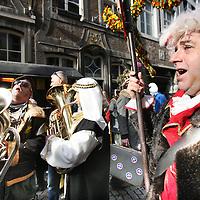 Nederland, Maastricht , 10 februari 2013..Carnaval in de straten van Maastricht.Carnival in the streets of Maastricht.