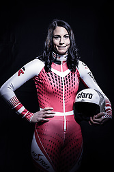 12.10.2019, Olympiahalle, Innsbruck, AUT, FIS Weltcup Ski Alpin, im Bild Mirjam Puchner // during Outfitting of the Ski Austria Winter Collection and the official Austrian Ski Federation 2019/ 2020 Portrait Session at the Olympiahalle in Innsbruck, Austria on 2019/10/12. EXPA Pictures © 2020, PhotoCredit: EXPA/ JFK