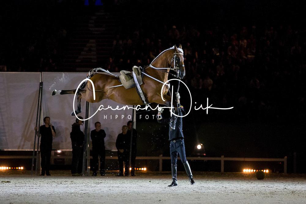 Opening Ceremony, Cadre Noir<br /> Alltech FEI World Equestrian Games™ 2014 - Normandy, France.<br /> © Hippo Foto Team - Leanjo de Koster<br /> 25/06/14