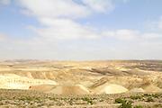 Israel, Judaea Desert, The dunes of Judea desert.