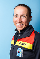 10.03.2016, Colonia di Sant Jordi, ESP, Deutsche Triathlon Nationalmannschaft, Trainingslager, im Bild Anne Haug (GER) // during photocall at the training camp of German Triathlon National Team in Colonia di Sant Jordi, Spain on 2016/03/10. EXPA Pictures © 2016, PhotoCredit: EXPA/ Eibner-Pressefoto/ Schüler<br /> <br /> *****ATTENTION - OUT of GER*****