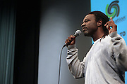 25 August New York, NY- Poet Alvin Seme performs at the Imagenation Cinema Foundation Screening of '  Yelling to the Sky ' presented by the Imagenation Cinema Foundation and The Film Society of Lincoln Center held at the Walter Reade Theater at Lincoln Center on August 25, 2011 in New York, NY. Photo Credit: Terrence Jennings
