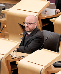 First Minister's Questions in the Scottish Parliament<br /> <br /> Thursday, 19th September 2019<br /> <br /> Pictured: Patrick Harvie MSP<br /> <br /> Alex Todd | Edinburgh Elite media