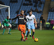 Leon Clarke of Sheffield Utd during the English League One match at the Rioch Arena Stadium, Coventry. Picture date: December 15th, 2016. Pic Simon Bellis/Sportimage