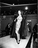 1956 - Irene Gilbert fashion show at the Shelbourne Hotel