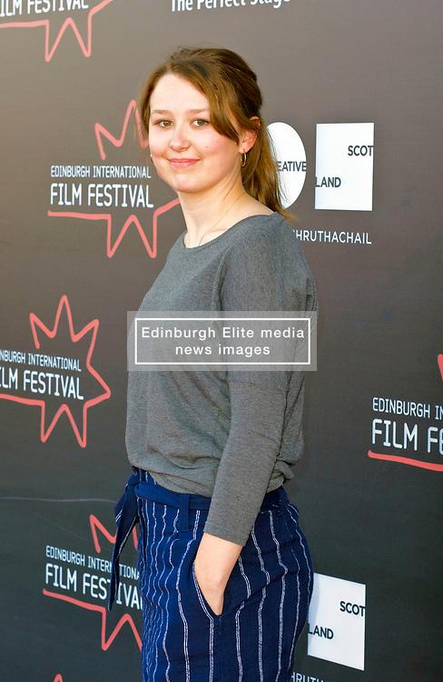 Edinburgh International Film Festival, Monday, 25th June 2018<br /> <br /> JELLYFISH (European Premiere)<br /> <br /> Pictured: Liv Hill<br /> <br /> (c) Alex Todd   Edinburgh Elite media