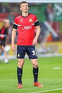 Doncaster Rovers defender Paul Downing (31) during the EFL Sky Bet League 1 second leg Play-Off match between Charlton Athletic and Doncaster Rovers at The Valley, London, England on 17 May 2019.