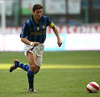 Fotball<br /> Italia<br /> Foto: Inside/Digitalsport<br /> NORWAY ONLY<br /> <br /> Cristiano Zanetti (Inter)<br /> <br /> 16.03.2008<br /> Inter v Palermo (2-1)