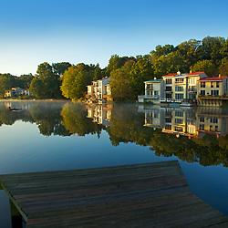 Sunrise on Reston's Lake Anne