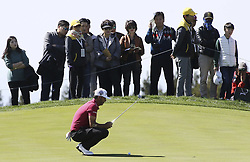 October 20, 2018 - Jeju, SOUTH KOREA - Oct 20, 2018-Jeju, South Korea-BROOKS KOEPKA of USA action on the 8th hall during the PGA Golf CJ Cup Nine Bridges Round 3 at Nine Bridges Golf Club in Jeju, South Korea. (Credit Image: © Ryu Seung-Il/ZUMA Wire)