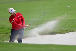 March 2, 2019 - Singapore - Ariya Jutanugarn of Thailand plays a shot on the 5th hole during the third round of the Women's World Championship at the Tanjong Course, Sentosa Golf Club. (Credit Image: © Paul Miller/ZUMA Wire)