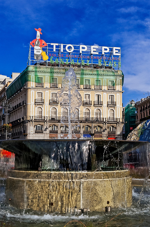 Puerta del Sol plaza, Madrid, Spain