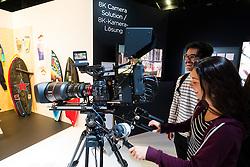Canon 8k video prototype movie camera at Photokina trade fair in Cologne, Germany , 2016
