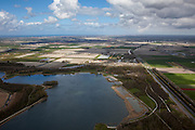 Nederland, Noord-Holland, Gemeente Langedijk, 16-04-2012; Geestmerambacht, recreatiegebied en recreatieplas in de Geestmerpolder .Recreation area Geestmerambacht (NW Netherlands) ..luchtfoto (toeslag), aerial photo (additional fee required);.copyright foto/photo Siebe Swart