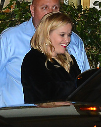 Reese Witherspoon Leaves Jennifer Anistons 50th Birthday Party. 10 Feb 2019 Pictured: Reese Witherspoon. Photo credit: MEGA TheMegaAgency.com +1 888 505 6342