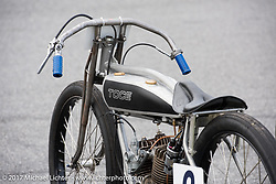 Dan Toce's 1916 Indian Power Plus at Billy Lane's Sons of Speed vintage motorcycle racing during Biketoberfest. Daytona Beach, FL, USA. Saturday October 21, 2017. Photography ©2017 Michael Lichter.