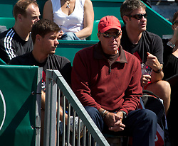 17.04.2012 Country Club, Monte Carlo, MON, ATP World Tour, Rolex Masters, 2. Runde, im Bild Ivan Lendl the coach for Andy Murray (GBR) action during the second round match betweenAndy Murray (GBR) and Viktor Troicki (SRB)   during Rolex Masters tennis tournament second Round of ATP World Tour at Country Club, Monte Carlo, Monaco on 2012/04/17. EXPA Pictures © 2012, PhotoCredit: EXPA/ Mitchell Gunn