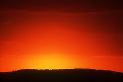 Sunset at Vinales; Cuba,