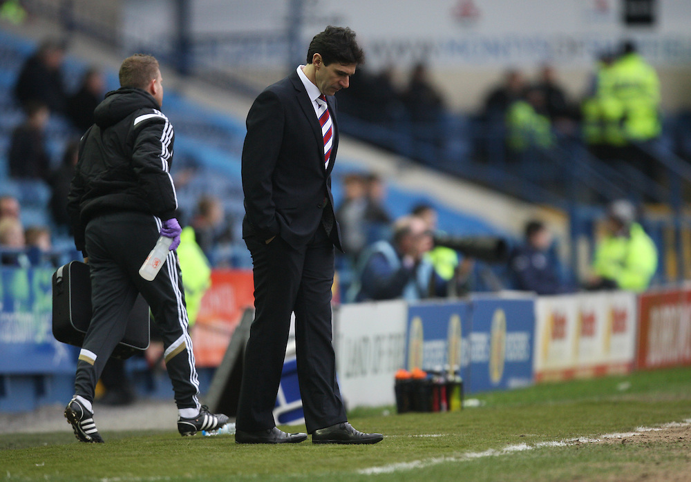 Middlesbrough manager Aitor Karanka<br /> <br /> Photographer Jack Phillips/CameraSport<br /> <br /> Football - The Football League Sky Bet Championship - Sheffield Wednesday v Middlesbrough - Saturday 28th February 2015 - Hillsborough - Sheffield<br /> <br /> © CameraSport - 43 Linden Ave. Countesthorpe. Leicester. England. LE8 5PG - Tel: +44 (0) 116 277 4147 - admin@camerasport.com - www.camerasport.com