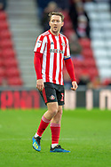 Aiden McGeady (#19) of Sunderland AFC during the EFL Sky Bet League 1 match between Sunderland AFC and Luton Town at the Stadium Of Light, Sunderland, England on 12 January 2019.