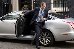 © Licensed to London News Pictures. 08/12/2017. London, UK. Chief Whip JULIAN SMITH seen on Downing Street in London following progress in Brexit negotiations, which have seen an agreement made on the handling  of the Irish border. Photo credit: Ben Cawthra/LNP