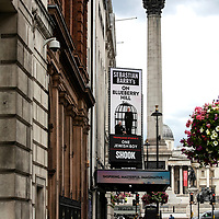 On Blueberry Hill at Trafalgar Studios;<br />Theatres in lockdown;<br />West End Theatreland, London, UK;<br />7th July 2020.<br /><br />© Pete Jones<br />pete@pjproductions.co.uk