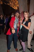NASH KANJI; VIVHUTI VAN DALEN, The Tanks at Tate Modern, opening. Tate Modern, Bankside, London, 16 July 2012