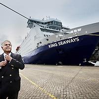 Nederland, IJmuiden , 17 juni 2011..Frans Baud, directeur van de cruiseterminal in IJmuiden, die de concurrentie aangaat met de terminal in Amsterdam.Foto:Jean-Pierre Jans