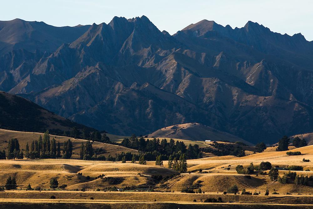 Mountain View from Riverrun Lodge, Wanaka, New Zealand