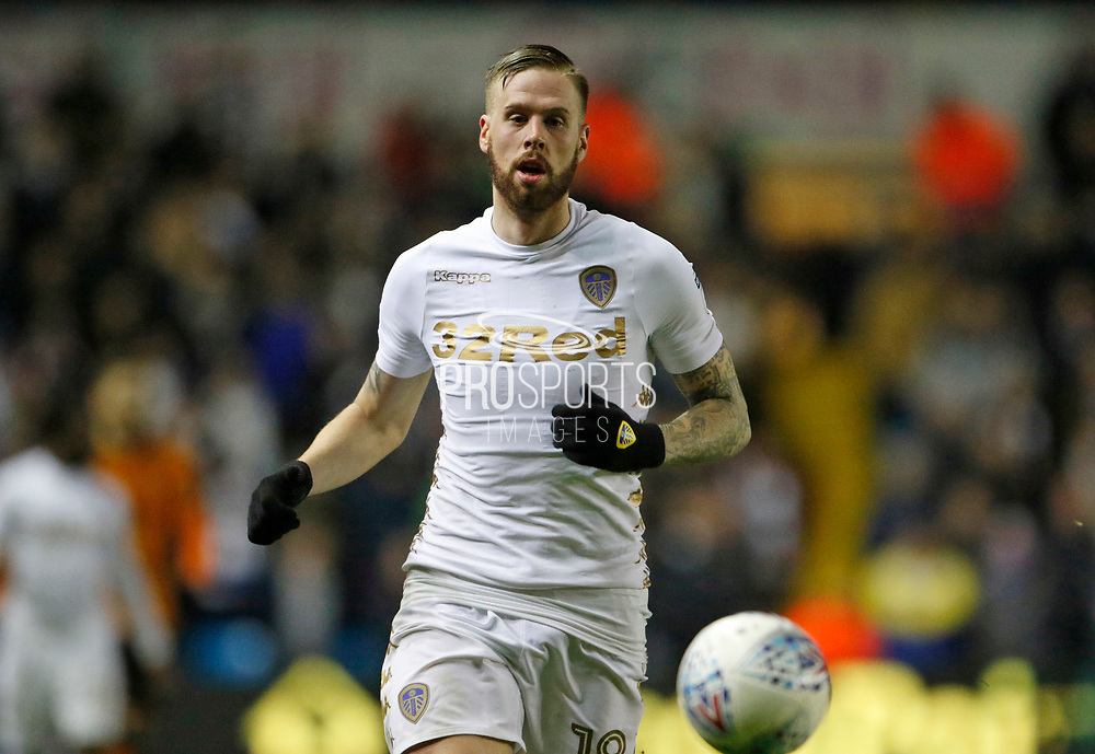 Leeds United defender Pontus Jansson  during the EFL Sky Bet Championship match between Leeds United and Wolverhampton Wanderers at Elland Road, Leeds, England on 7 March 2018. Picture by Paul Thompson.