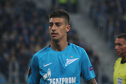 September 28, 2017 - Saint-Petersburg - Of The Russian Federation. Saint-Petersburg. Zenit-arena. Arena Saint-Petersburg. Match Of The UEFA Europa League. Zenit beat real Sociedad with the score 3:1 in the match of UEFA Europa League. Player Emiliano Rigoni. (Credit Image: © Russian Look via ZUMA Wire)