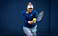 Vera Zvonareva of Russia in action against Daria Kasatkina of Russia during the first round at the 2021 Viking International WTA 500 tennis tournament on June 22, 2021 at Devonshire Park Tennis in Eastbourne, England - Photo Rob Prange / Spain ProSportsImages / DPPI / ProSportsImages / DPPI