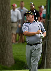 June 1, 2018 - Dublin, OH, U.S. - DUBLIN, OH - JUNE 01: Jason Dufner during the second round of the Memorial Tournament at Muirfield Village Golf Club in Dublin, Ohio on June 01, 2018.(Photo by Jason Mowry/Icon Sportswire) (Credit Image: © Jason Mowry/Icon SMI via ZUMA Press)