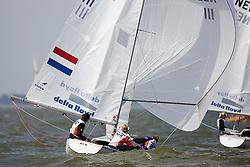 08_002719 © Sander van der Borch. Medemblik - The Netherlands,  May 24th 2008 . Day 4 of the Delta Lloyd Regatta 2008.