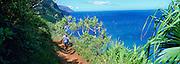 Kalalau Trail, Napali Coast, Kauai, Hawaii<br />