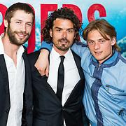 NLD/Amsterdam/20170522 - Premiere film Broers,, Niels Gomperts, Bram Schouw en Jonas Smulders