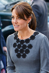 © Licensed to London News Pictures. 27/10/2015. London, UK. The Duchess of Cambridge attends a charity event organised by Chance UK at Islington Town Hall in north London on Tuesday, 27 October 2015. Photo credit: Tolga Akmen/LNP
