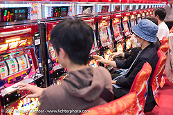 Gambling hall, Kyoto, Japan. December 10, 2015.  Photography ©2015 Michael Lichter.