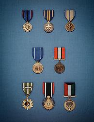 Military award medals. CONCEPT STOCK PHOTOS
