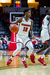 NORMAL, IL - January 29: Antonio Reeves during a college basketball game between the ISU Redbirds and the University of Evansville Purple Aces on January 29 2020 at Redbird Arena in Normal, IL. (Photo by Alan Look)
