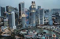 Singapore, Downtown Core (color)