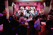 """Night of """"rumba"""" (dance) at El Sitio, one of the most fashionable places in the city."""