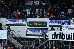 Bristol Rugby beat Leeds Carnegie 21 - 17 - Photo mandatory by-line: Dougie Allward/JMP - Tel: Mobile: 07966 386802 13/10/2013 - SPORT - FOOTBALL - RUGBY UNION - Memorial Stadium - Bristol - Bristol Rugby v Leeds Carnegie - B&I Cup