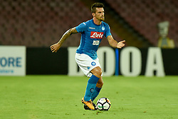 August 10, 2017 - Naples, Naples, Italy - Christian Maggio of SSC Napoli during the Pre-season Frendly match between SSC Napoli and RCD Espanyol at Stadio San Paolo Naples Italy on 10 August 2017. (Credit Image: © Franco Romano/NurPhoto via ZUMA Press)