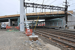 Construction Progress Railroad Station Fairfield Metro Center - Site visit 22 of once per month periodic photography