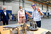 Koningin Maxima bezoekt Veluw Metal Creations